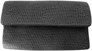 The Sak The Sak Black Nylon Woven Wallet Purse