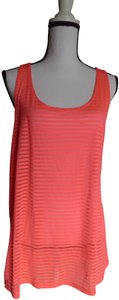 Material Girl Material Girl Activewear Twisted Racerback Tank Top, Candy Pink, XXL