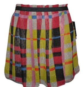 Jessica Simpson Mini Skirt Plaid