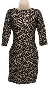 Rubber Ducky Productions, Inc. Animalprint Leopard Hourglass Backless Redcarpet Dress