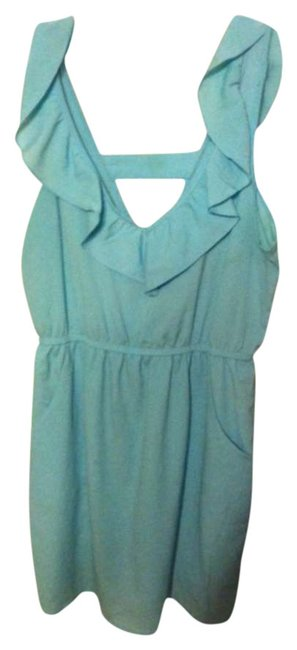 Kirra short dress Empire Waist Summer Light Blue on Tradesy