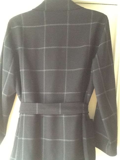 Emanuel Ungaro Belted. Wool. Lined In Vogue Now. Exceptional Price. Used In Film Shoot Charcoal Gray Jacket