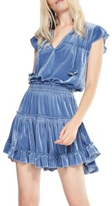 MISA Los Angeles short dress Blue on Tradesy