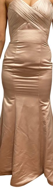 Item - Pink Sleeveless Long Formal Dress Size 4 (S)
