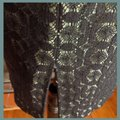 Kay Unger Black and Green Pencil Skirt Size 2 (XS, 26) Kay Unger Black and Green Pencil Skirt Size 2 (XS, 26) Image 2