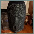 Kay Unger Black and Green Pencil Skirt Size 2 (XS, 26) Kay Unger Black and Green Pencil Skirt Size 2 (XS, 26) Image 3