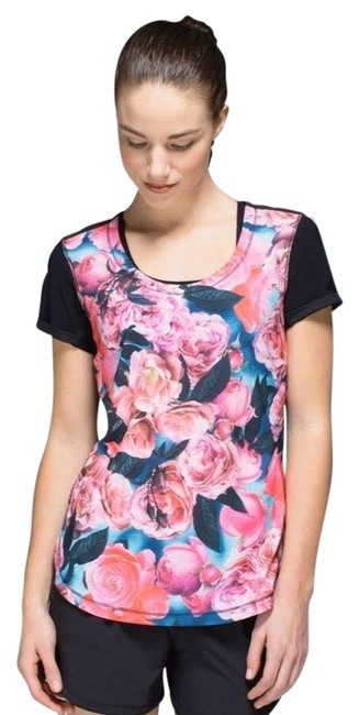 Item - Lightened Up Sleeve Activewear Top Size 8 (M)
