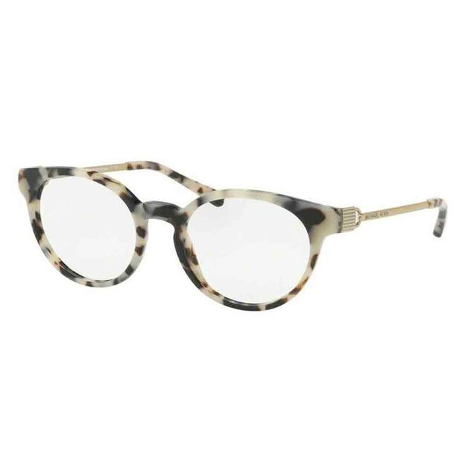 Item - Cream Tortoise Frame & Demo Lens Mk4048 3294 51 Round Women's