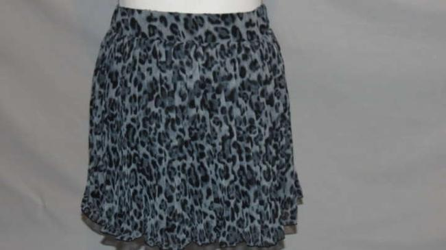 Say What? Mini Skirt Gray