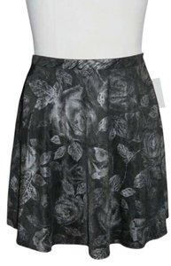 Mini Skirt Black/Silver