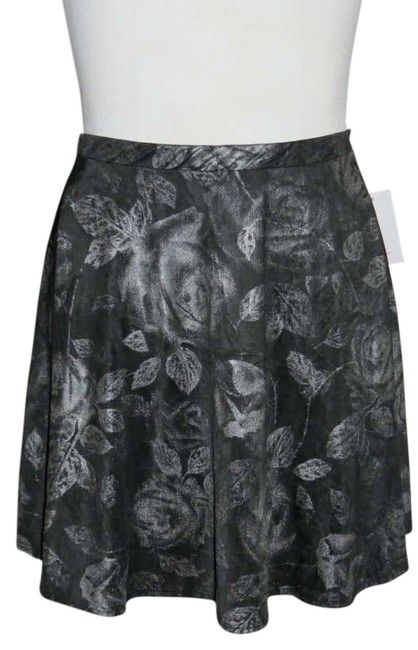 Other Mini Skirt Black/Silver