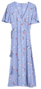 Blue Maxi Dress by Madewell Floral Floral Print