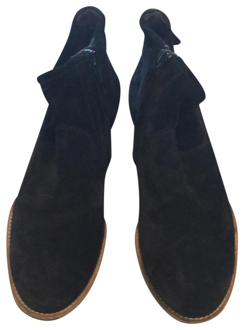 Paul Green Black Suede Boots/Booties Size US 4.5 Regular (M, B) Paul Green Black Suede Boots/Booties Size US 4.5 Regular (M, B) Image 1