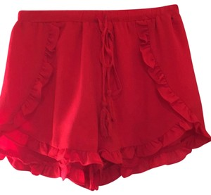 The Impeccable Pig Mini/Short Shorts red