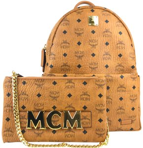 MCM Pouch Backpack