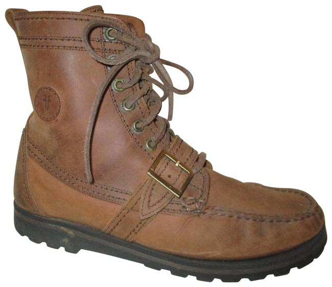Item - Brown Lace Up Ankle Boots/Booties Size US 11 Regular (M, B)
