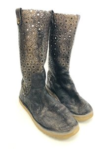 Australia Luxe Collective Gold Brushed Black Boots