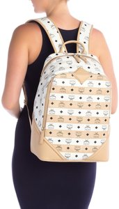 MCM Hollywood Date Night Party Casual Logo Backpack