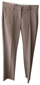 Theory Straight Pants beige with pink tone