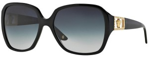 Versace VE4242-B GB1/8G 57mm Square Butterfly