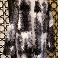 Zara Black White Gray Faux Coat Size 10 (M) Zara Black White Gray Faux Coat Size 10 (M) Image 2