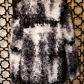 Zara Black White Gray Faux Coat Size 10 (M) Zara Black White Gray Faux Coat Size 10 (M) Image 3
