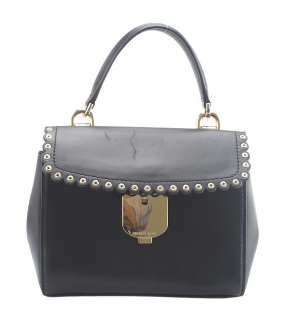 Item - Extra Small 2-way (164922) Black Leather Cross Body Bag