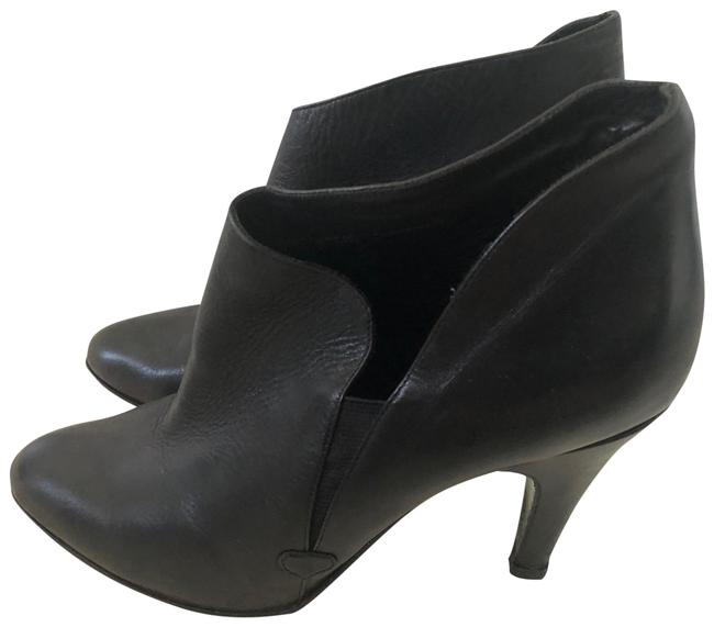 Item - Black Leather Boots/Booties Size US 8 Regular (M, B)