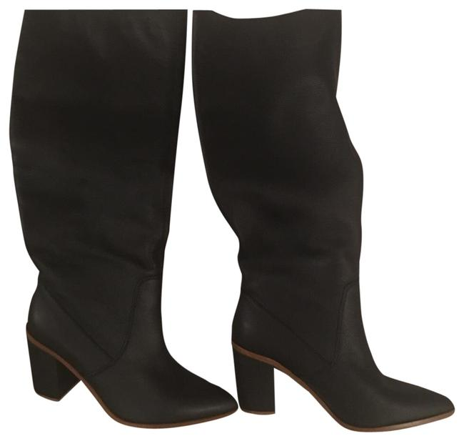 Item - Black 1s-paiton Boots/Booties Size US 7.5 Regular (M, B)