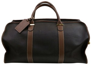 Alfred Dunhill Brown Travel Bag