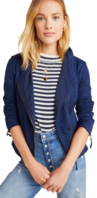Item - Blue French Terry Jacket Size 6 (S)