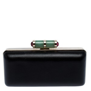 BVLGARI Bvlgari Black Leather Lipstick Case