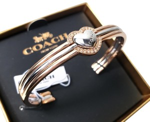 Coach Coach Halo Heart Bangle