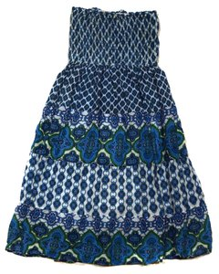 Other short dress Blue Cover Up Cute Fun Flirty Pretty on Tradesy
