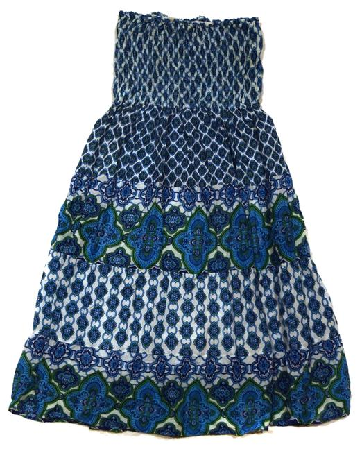 Other short dress Blue Sundress Cover Up Cute Fun Flirty Pretty on Tradesy