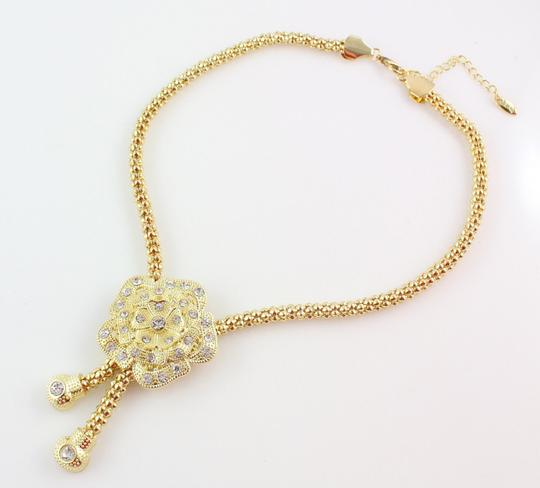 Other Stunning 4pc Flower Necklace Jewelry Set