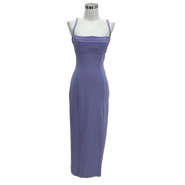 Item - Purple N900 Vintage Designer Ps Small 4p 6p Long Formal Dress Size Petite 4 (S)