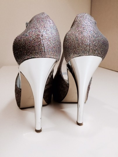Guess Glitter Rainbow Pumps