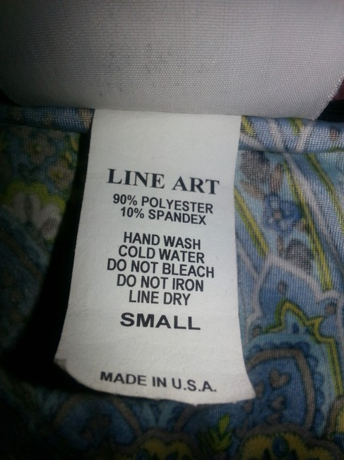 Dream Dance by Line Art short dress Blue, teal, brown & green sparkles on Tradesy