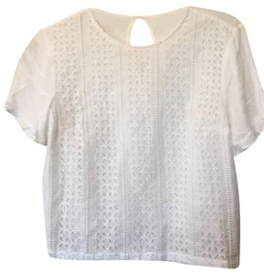 The Impeccable Pig Top white