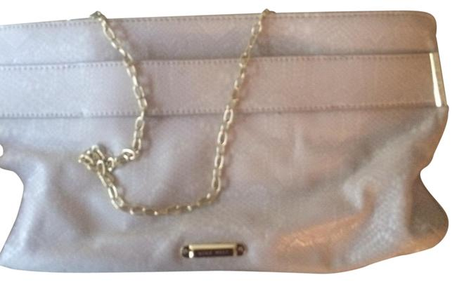 Item - With Chain and Handles Cream Clutch