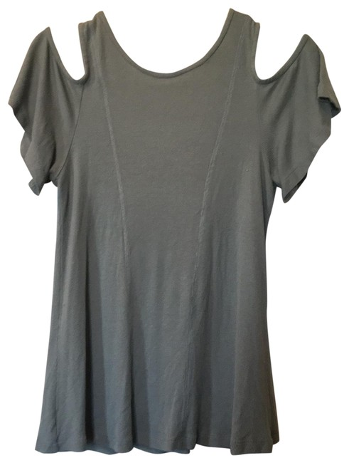 Item - Green Tunic Blouse Size 4 (S)