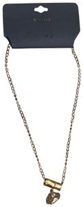 Express Express Jewelry Women's Crystal Rock Necklace Gold