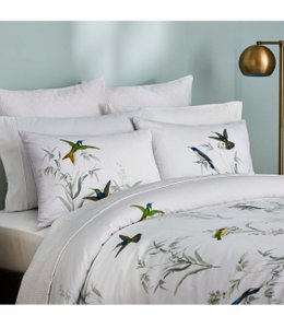 Ted Baker White/Green Fortune King Duvet Cover and Two King Shams. Other