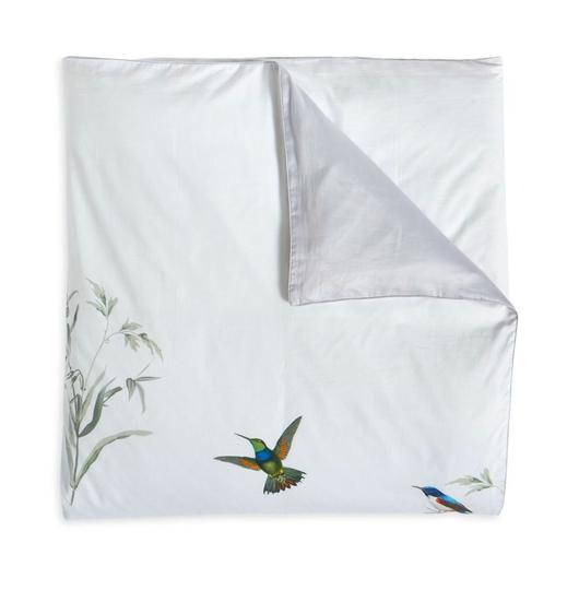 Ted Baker White/Green Fortune King Duvet Cover and Two King Shams. Other Image 1