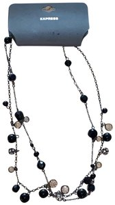 Express Express Jewelry Women's Necklace Black Pearl