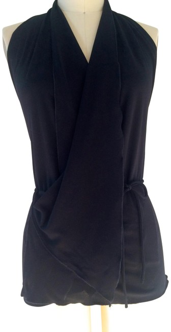 Item - Black Jersey Halter Top Size OS (one size)
