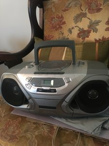 Philips Boombox Cd Player Speaker Household Electronics