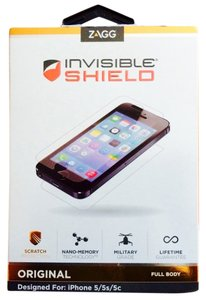 Zagg 5/4/15 Zagg Invisibleshield iPhone Protector