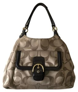 Coach Campbell F24742 Sateen Hobo Bag